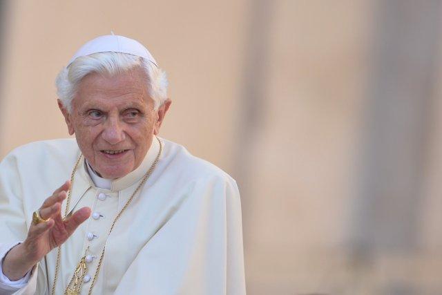 Le pape Benoît XVIPHOTO AFP