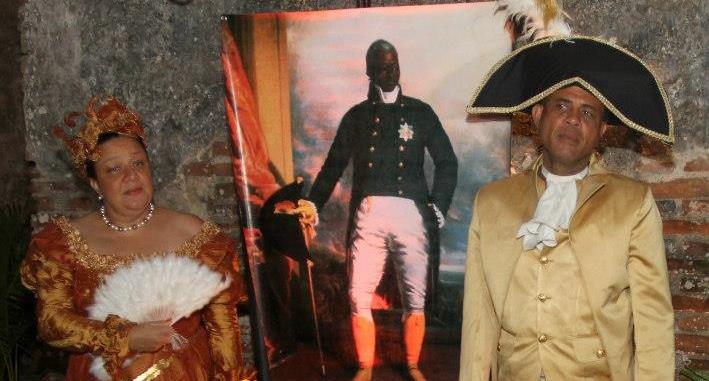 Le président et sa femme : Carnaval 2013 (Cap-Haïtien)